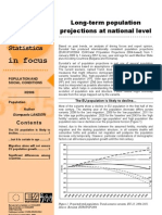 Long-term population projections at national level