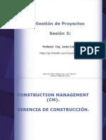Sesión 3 - Gestión de Proyectos - CM