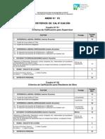 Anexo 05 - Criterios de Calificación