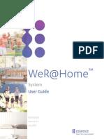 ESUG05022 WeR@Home™ System UG Rev 4.2