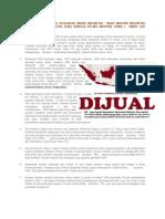 Bangsa Indonesia Yang Berdarah Murni Indonesia