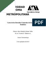 Carta General Del Cirujano Dentista