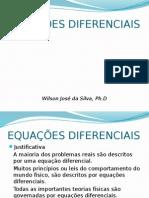 AULA 01 de Equações Diferenciais