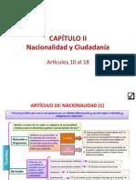 Capiatulo II Nacionalidad y Ciudadania