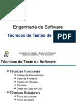 Testes de Software - Técnicas (1)