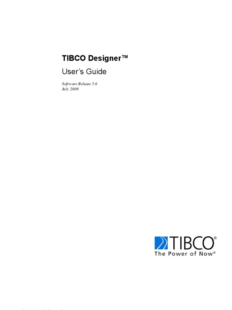 tibco designer user guide computer file command line interface rh scribd com TIBCO Logo TIBCO Integration