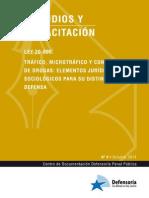 LEY 20.000 Trafico de Drogas - Manual Estudio Defensoria