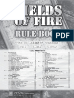 Fields of Fire - 1st Edition Rulebook