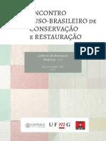 Encontro luso-brasileiro de conservação e restauração