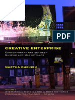 (International Texts in Critical Media Aesthetics) Martha Buskirk-Creative Enterprise_ Contemporary Art Between Museum and Marketplace-Continuum (2012)