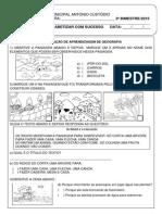 Avaliação III Bimestre de Geografia