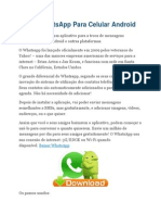 Baixar WhatsApp Para Celular Android