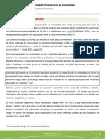 Programación en Ensamblador(1)