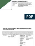 Matrices Historia Del Peru