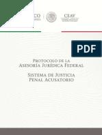 Protocolo Aseroría Jurídica Federal