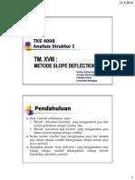 18 Metode Slope Deflection mekanika teknik
