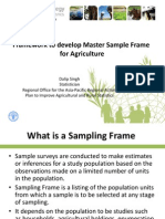 Framework to Develop MSF for Agriculture