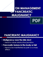 Pancreatic Malignancy