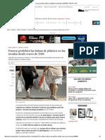 Francia Prohibirá Bolsas de Plástico en Tiendas _ ELESPECTADOR
