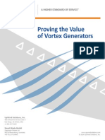 Proving the Value of Vortex Generators