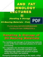 Oil and Fat Technology Lectures II