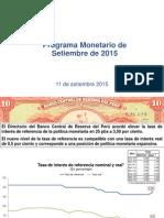 Presentacion 11 2015 BCRP