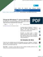 Dicas Do Windows 7_ Como Habilitar Funções Do Aero
