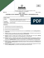 Unit Test-6 SSWD - Code-A (Dt 09-09-2015)