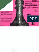 Ajedrez Hipermoderno i Dirigido Por Alekhine r Aguilera y f j Perez