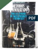 Métodos normalizados para el análisis de aguas potables y residuales.