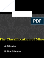 Mineral Class Forming