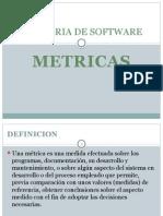 Métricas de la Ingeniería de Software
