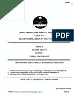 2015 PSPM Kedah BM1 w Ans new