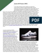 Nike Air Max Chaussures 89 France ZP45