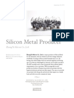 Silicon Metal(ZhongYa Silicon)