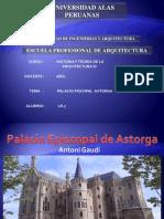 Arquitecto Aantoni Gaudi - Palacio Piscopal