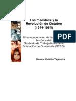 Los Maestros y La Revolucion de 1944