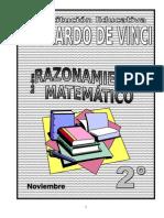 Noviembre - Raz. Matematico - 2do