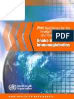 Snake Antivenom Guideline