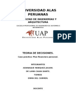 CASO PRACTICO Plan Finnaciero Informe