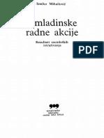 Srećko Mihajlović, Omladinske radne akcije
