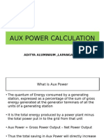 Aux Power Calculation