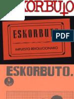 Eskorbuto Impuesto Revolucionario Comic Alexanco 1982