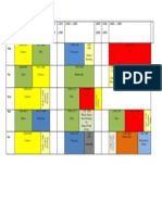 ID4A Timetable