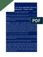 Lefort-Bin Laden y La Globalización-Entrevista