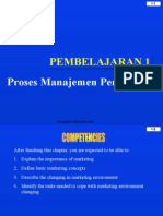 PROSES PEMASARAN