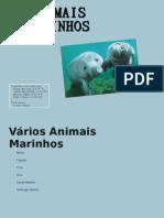 Animais_Marinhos 8ºB grupo 5