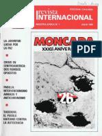 Revista Internacional-Nuestra Época-Edición Chilena, Julio de 1985