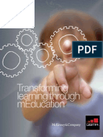April 10 - Transforming Learning Through Mobile Education - GSMA