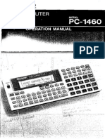 Pc1460 Op Manual